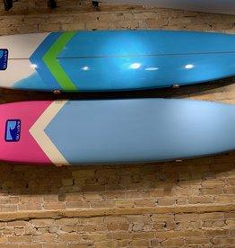 "BLU WAVE SUP LAKE LOG HARD TOP - 9' x 23.5"" Epoxy Longboard"