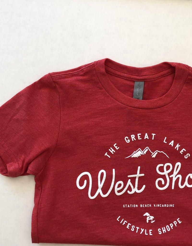 WEST SHORE WEST SHORE KIDS TEE - MOUNTAIN
