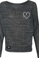 TENFED TF OFF THE SHOULDER LONG SLEEVE