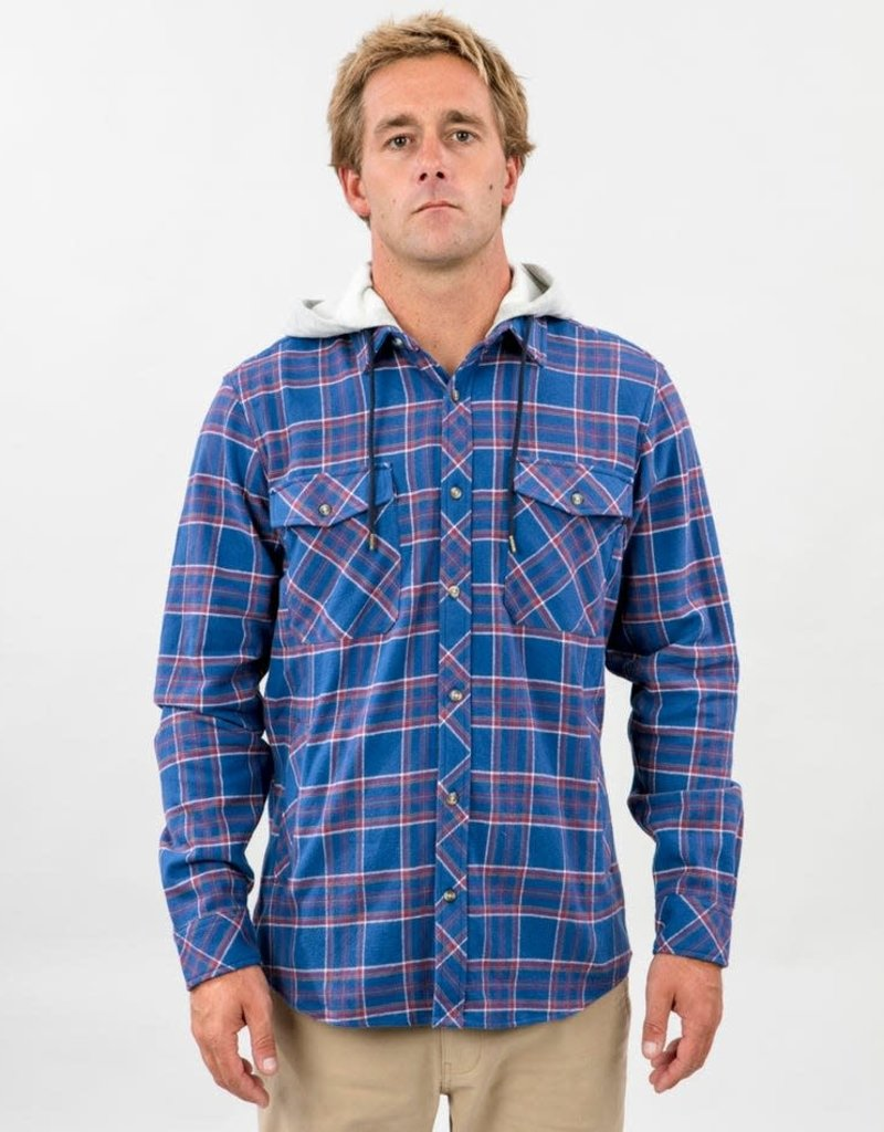 Ripcurl JALAMA HOODED L/S FLANNEL