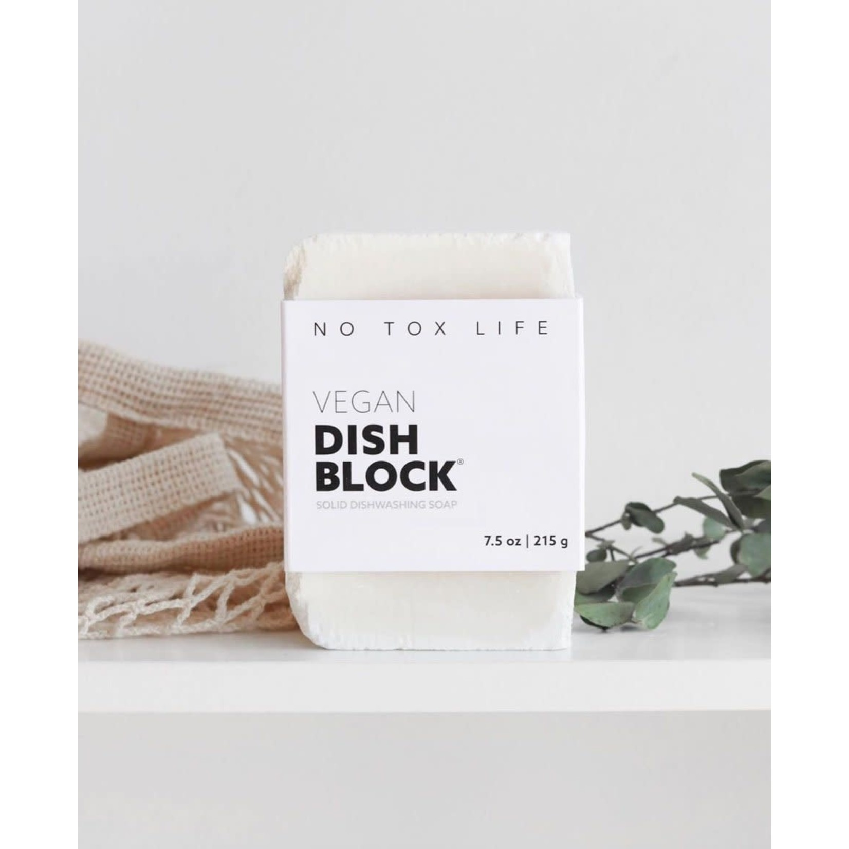 NO TOX LIFE VEGAN ZERO WASTE DISH WASHING BLOCK