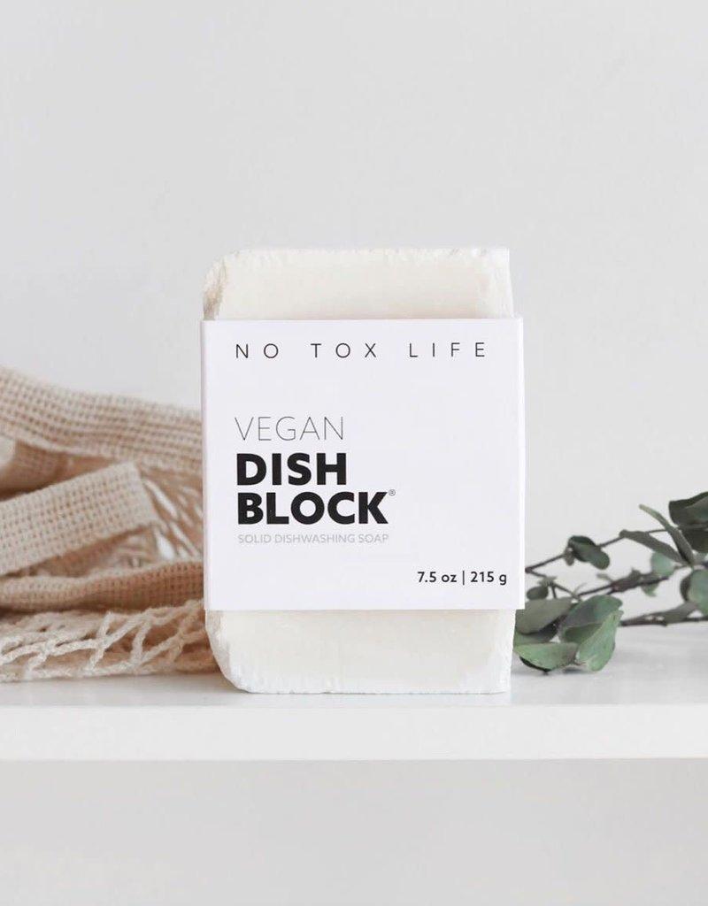 NO TOX LIFE VEGAN ZERO WASTE DISH WASHING BLOCK
