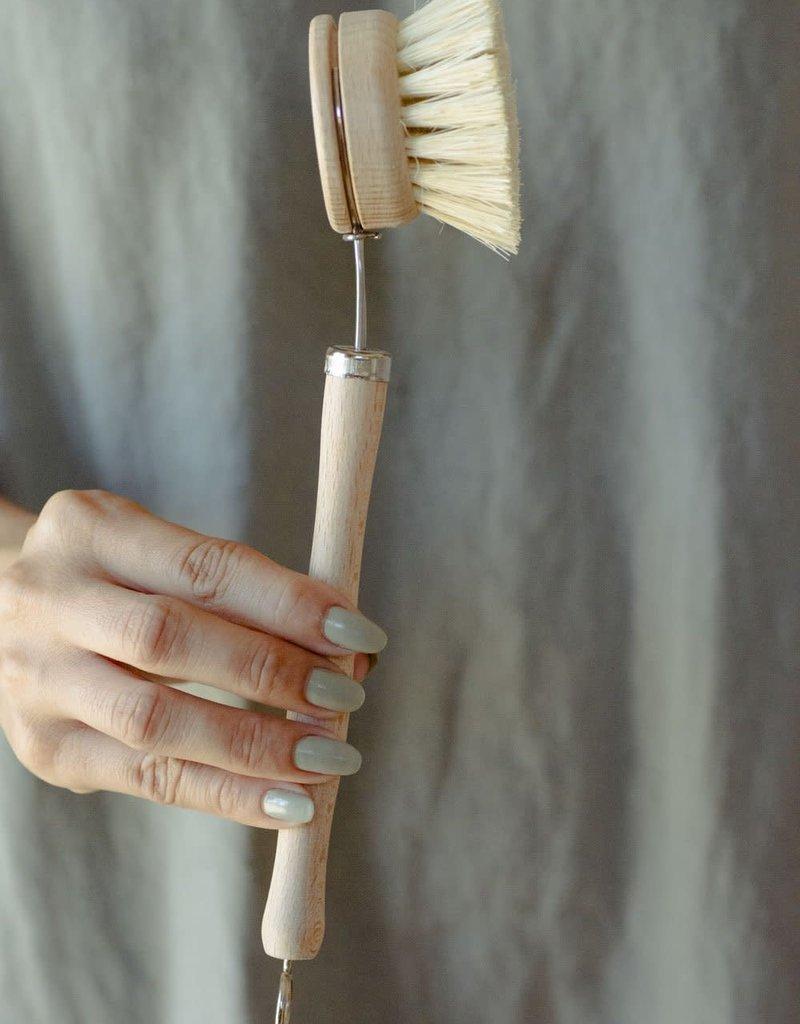 NO TOX LIFE CASA AGAVE DISH BRUSH HANDLE W/ HEAD - (NTBRUSHWHEAD)
