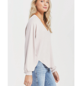 Z SUPPLY SLUB SWEATER TOP