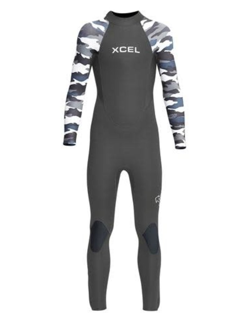 Xcel YOUTH AXIS BACK ZIP 5/4mm