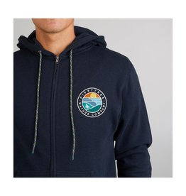 HIPPY TREE WAVEFORM HOODY