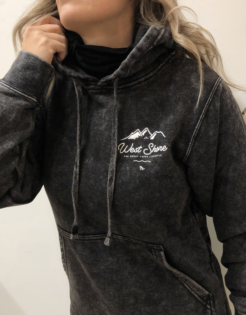 WEST SHORE WS - GLACIER TO LAKE MINERAL WASH HOODIE