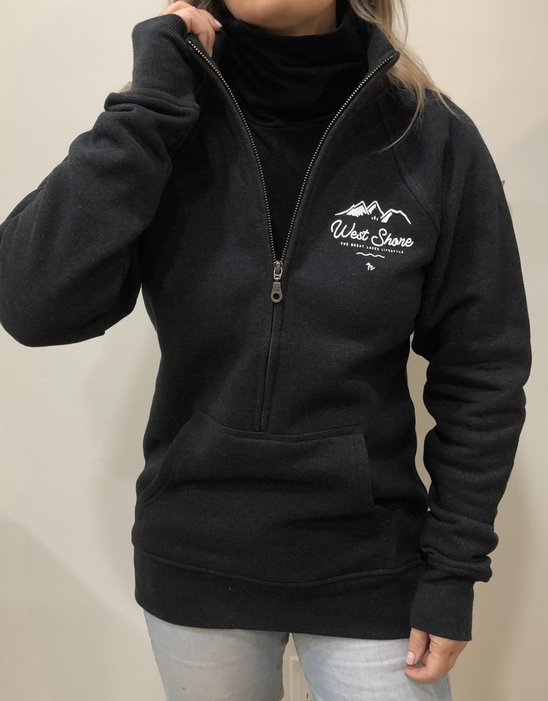 WEST SHORE WS LADIES HALF ZIP