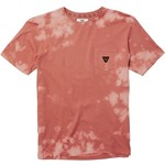 VISSLA CAPSIZED BLEACH WASH TEE