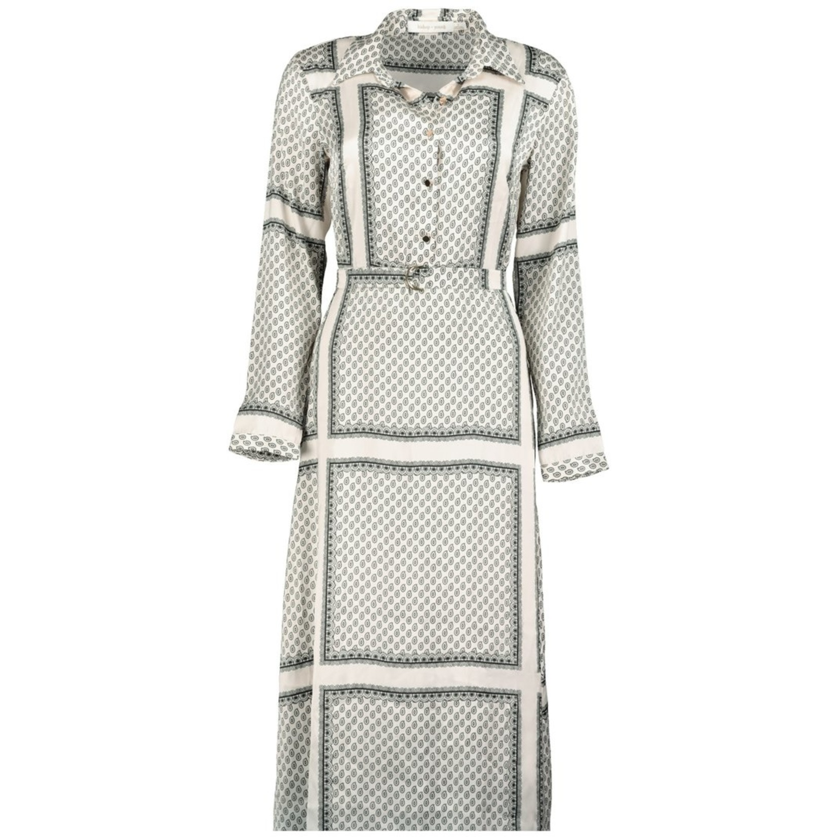 BISHOP + YOUNG BY - ZOEY SCARF PRINT DRESS