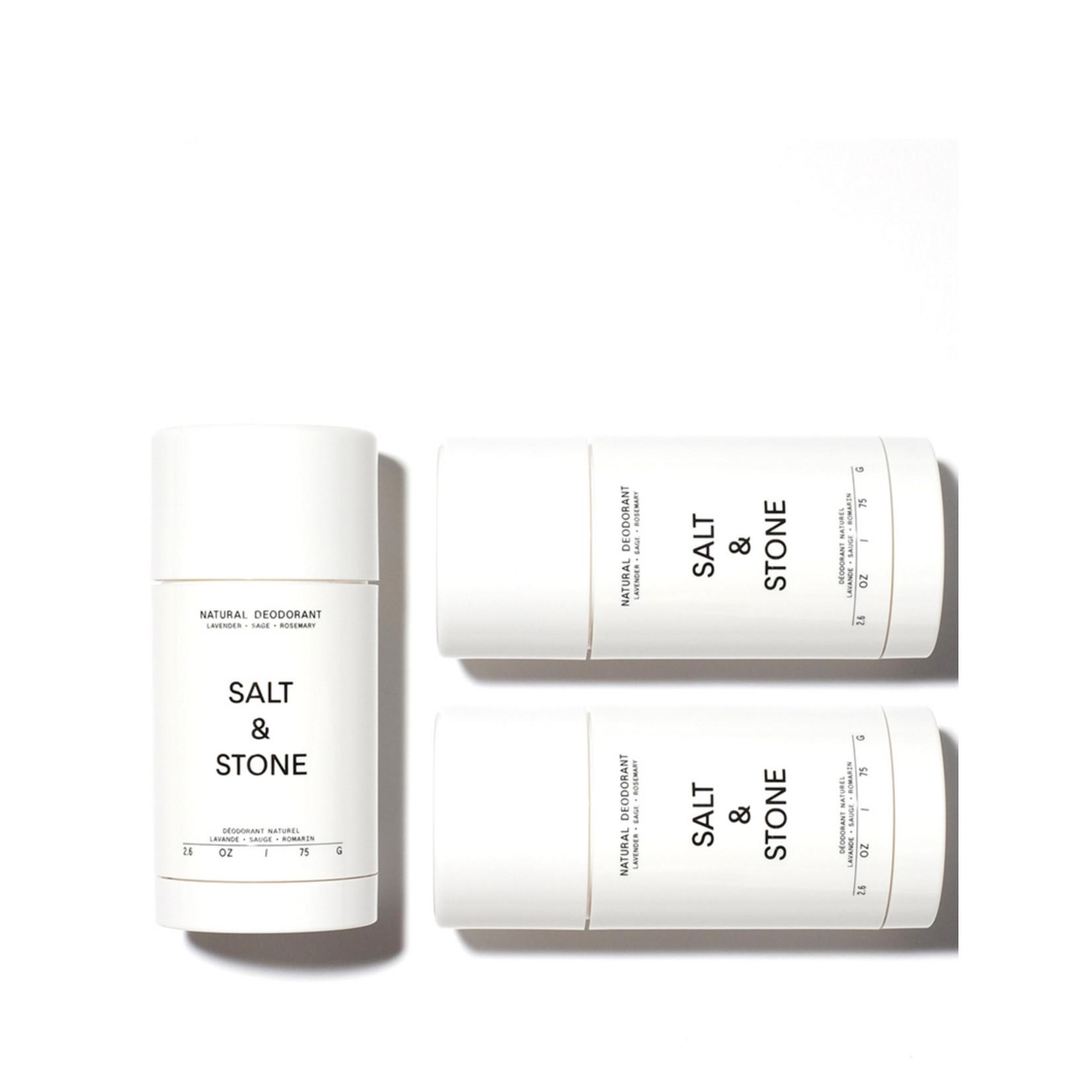 SALT & STONE DEODORANT LAVENDER & SAGE -  NATURAL DEODORANT