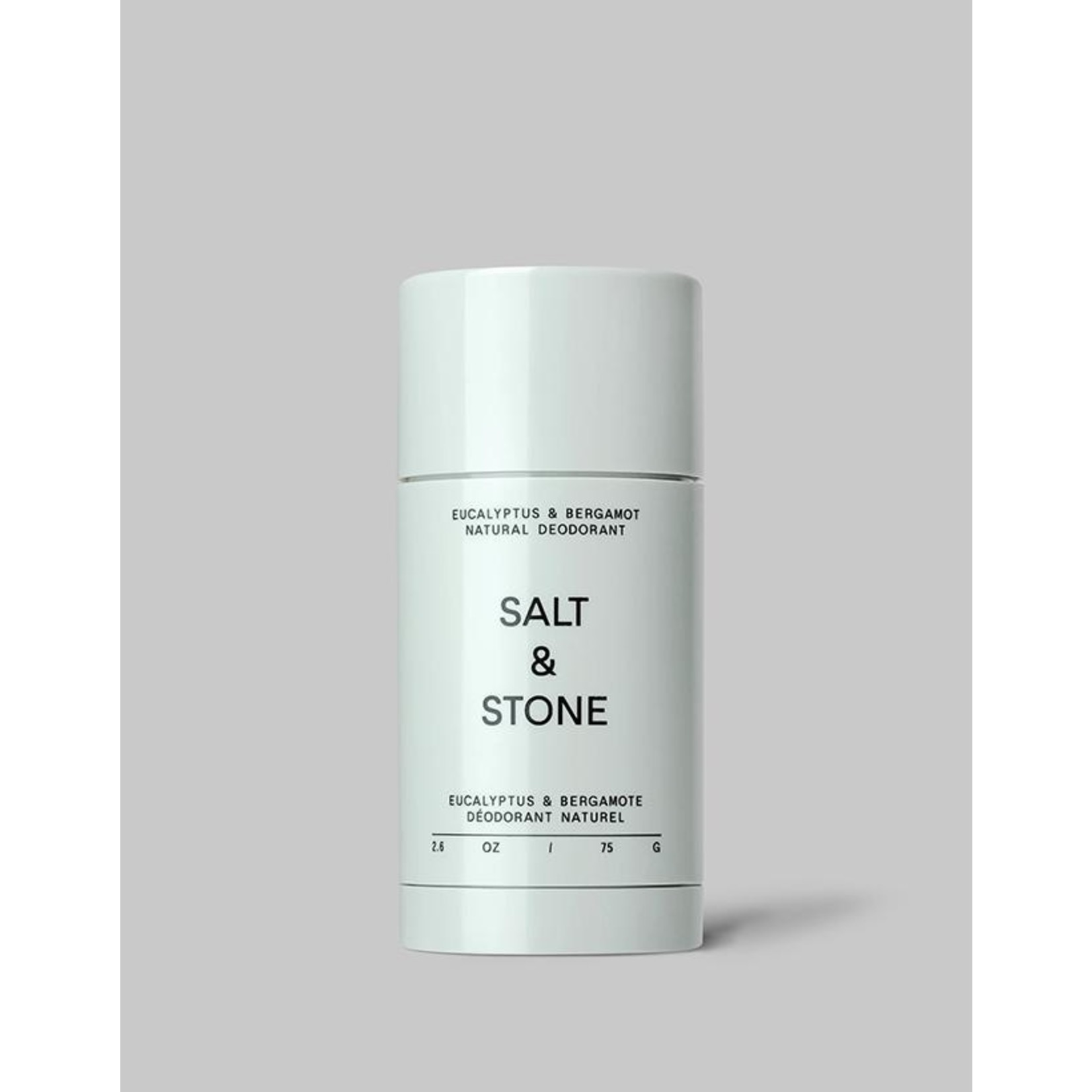 SALT & STONE DEODORANT EUCALYPTUS & BERGAMOT - NATURAL DEODORANT (SENSITIVE SKIN)
