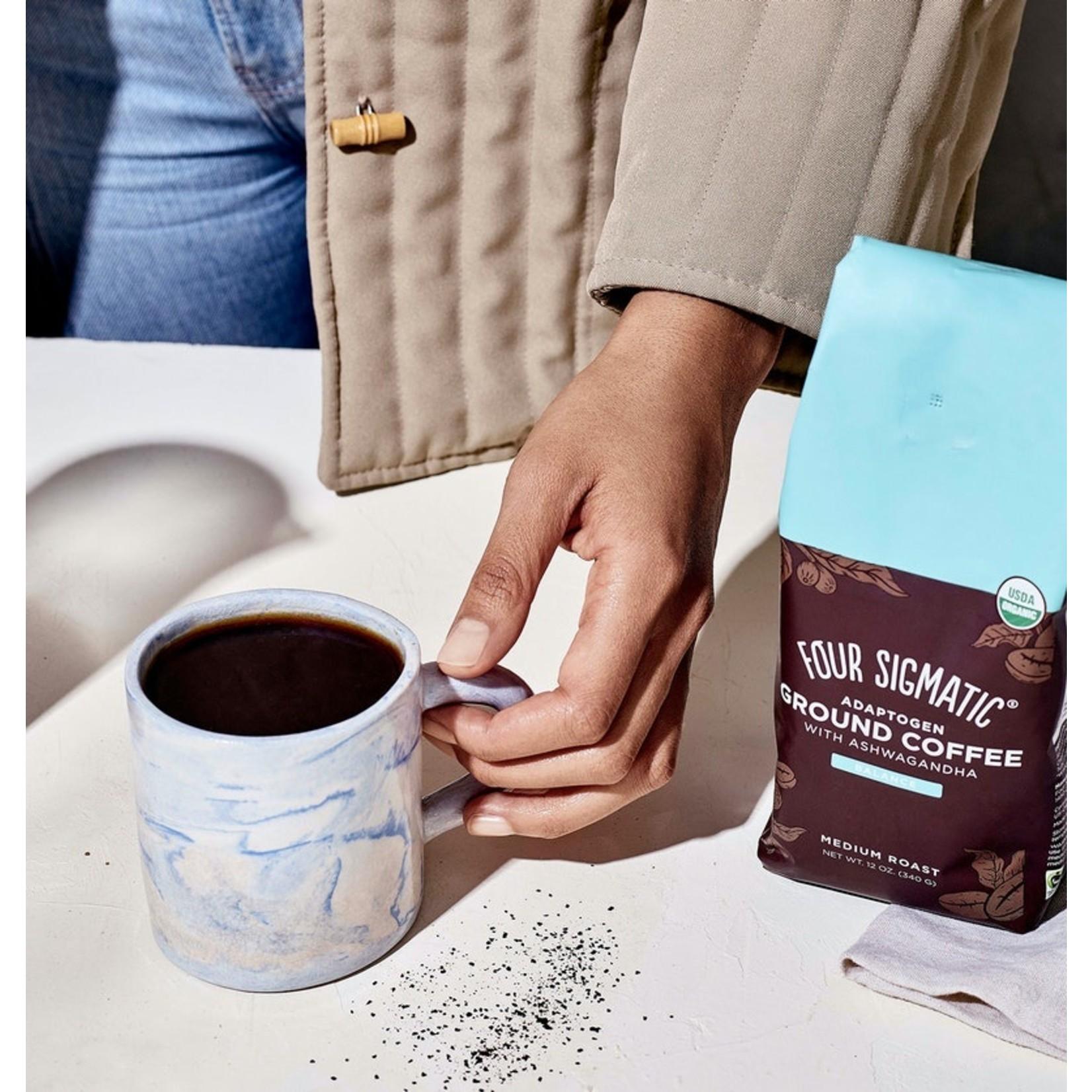 RAW ELEMENTS GROUND ADAPTOGEN COFFEE