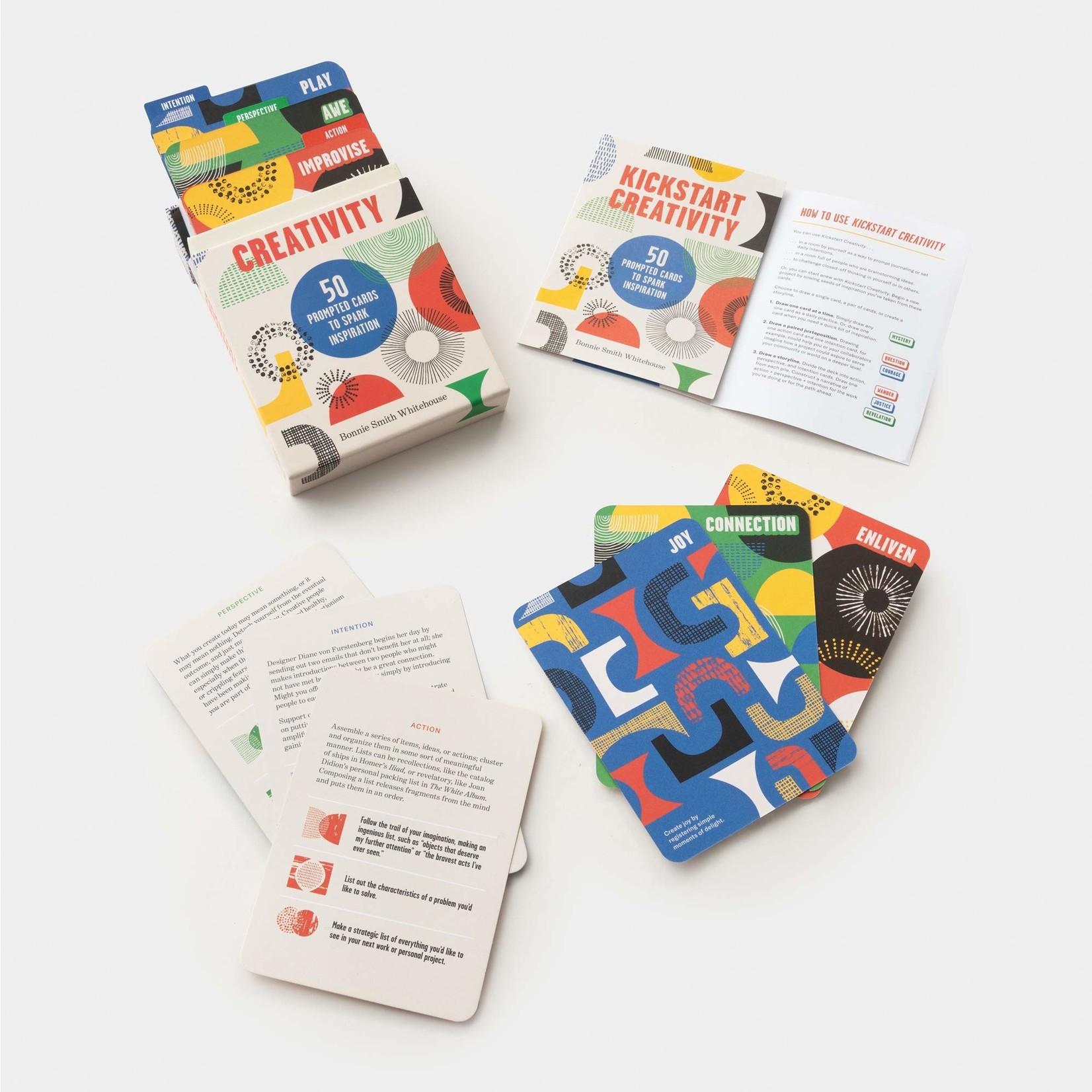 PENGUIN RANDOM  HOUSE KICKSTART CREATIVITY CARDS