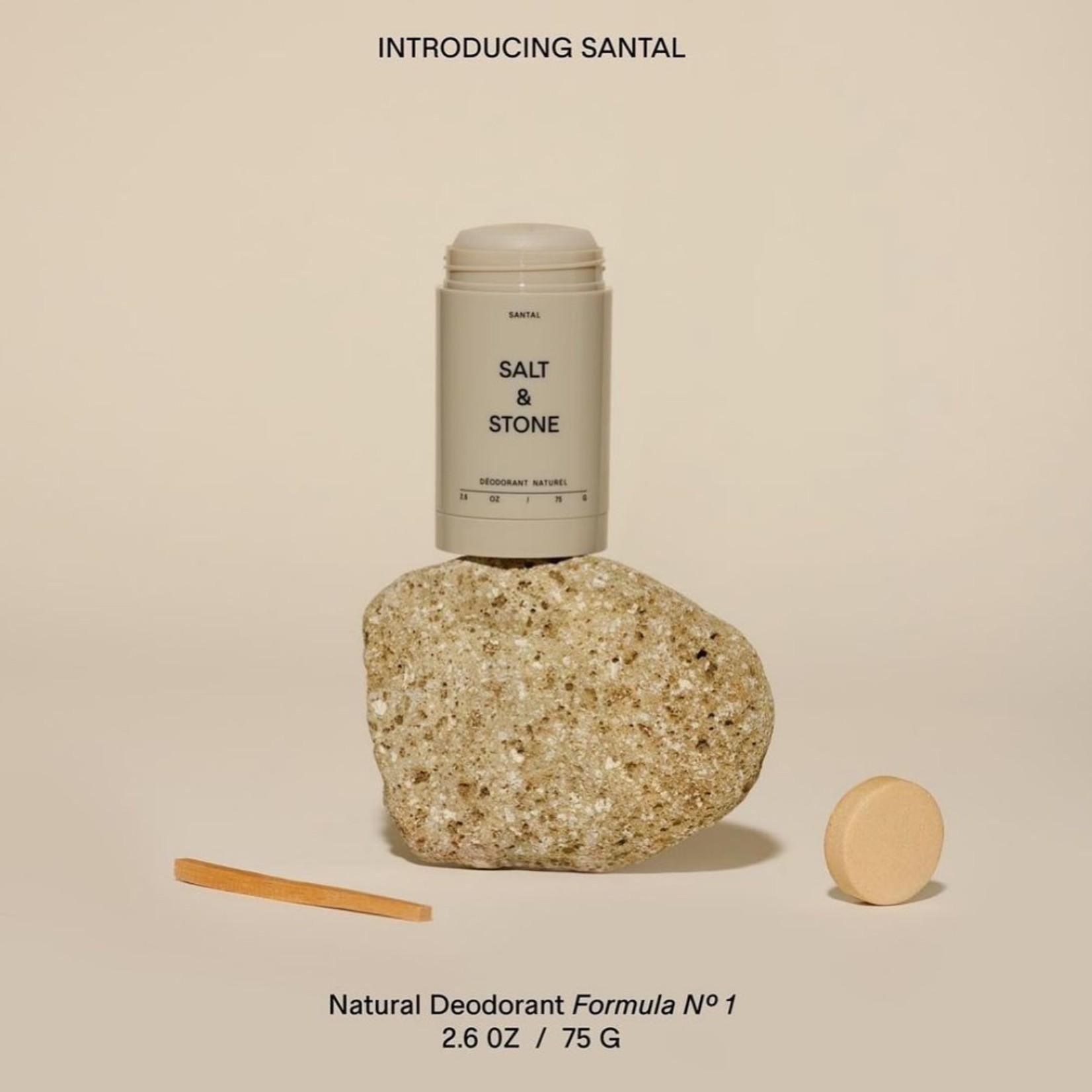 SALT & STONE DEODORANT SANTAL - NATURAL DEODORANT
