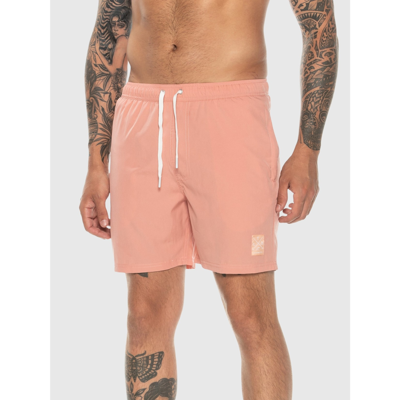 TEAMLTD SALMON SWIM SHORTS