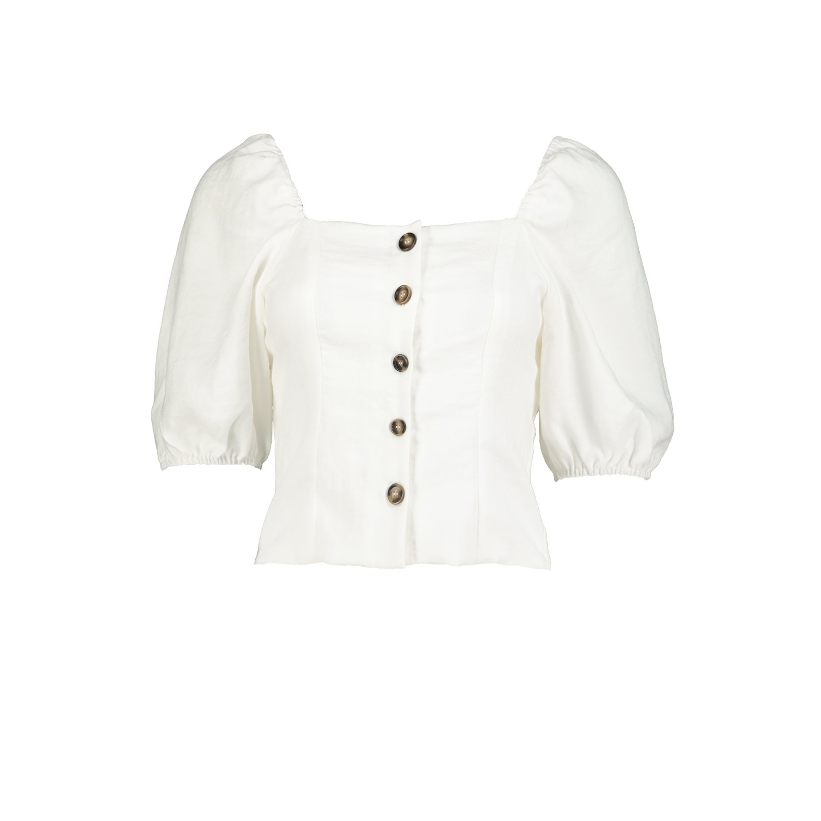 BISHOP + YOUNG SOJOURN BUTTON FRONT TOP