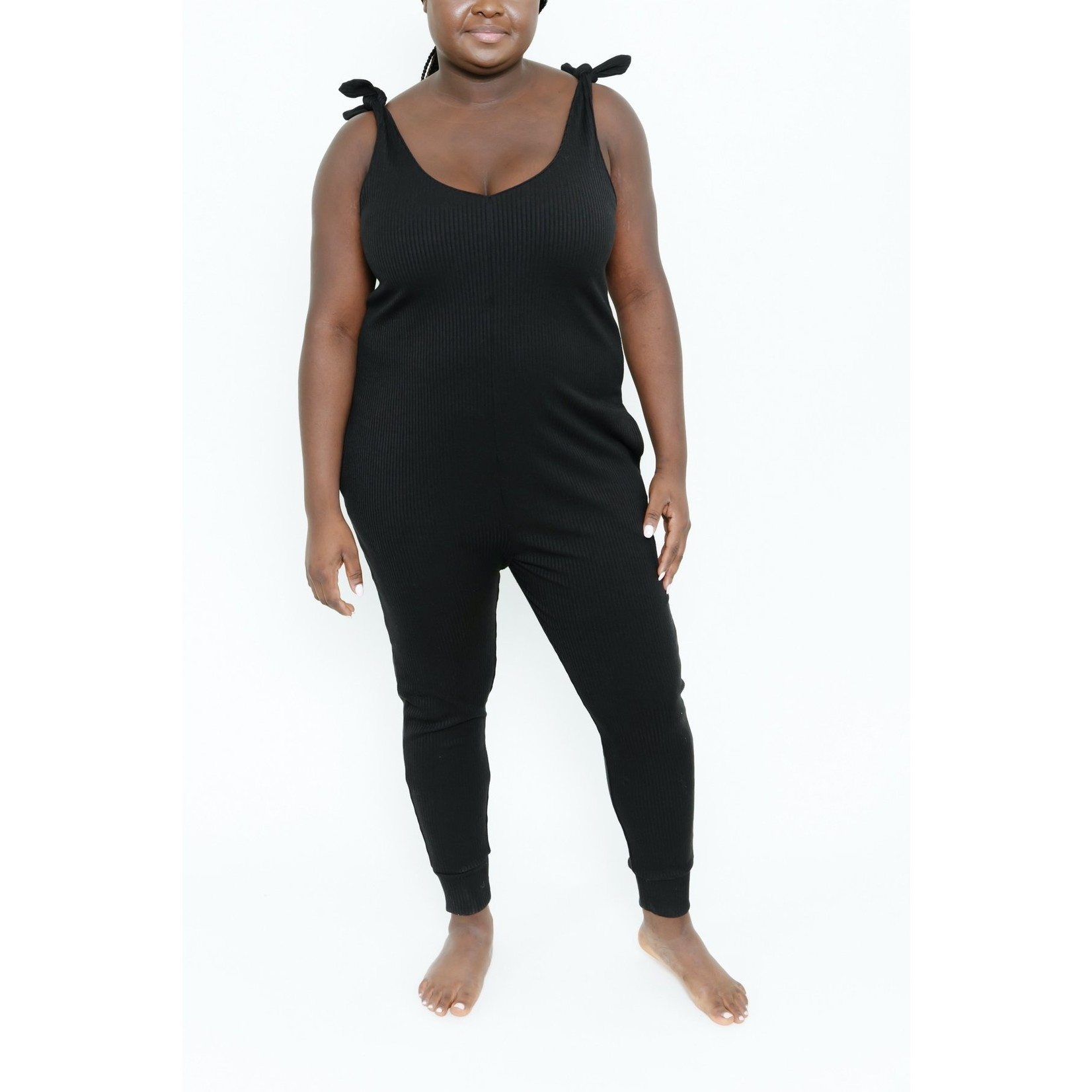SMASH & TESS THE KNOT YOUR AVERAGE ROMPER
