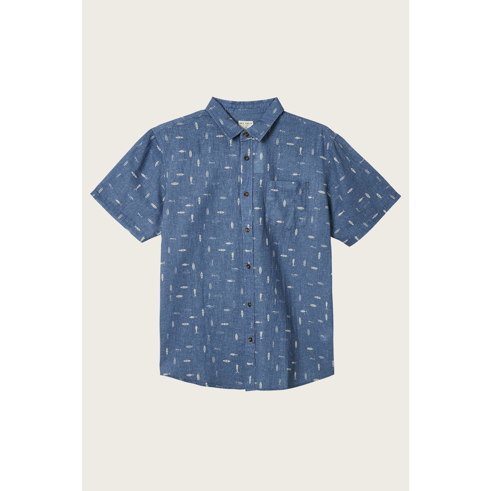 Oneill FISH TALES S/S BUTTON-UP