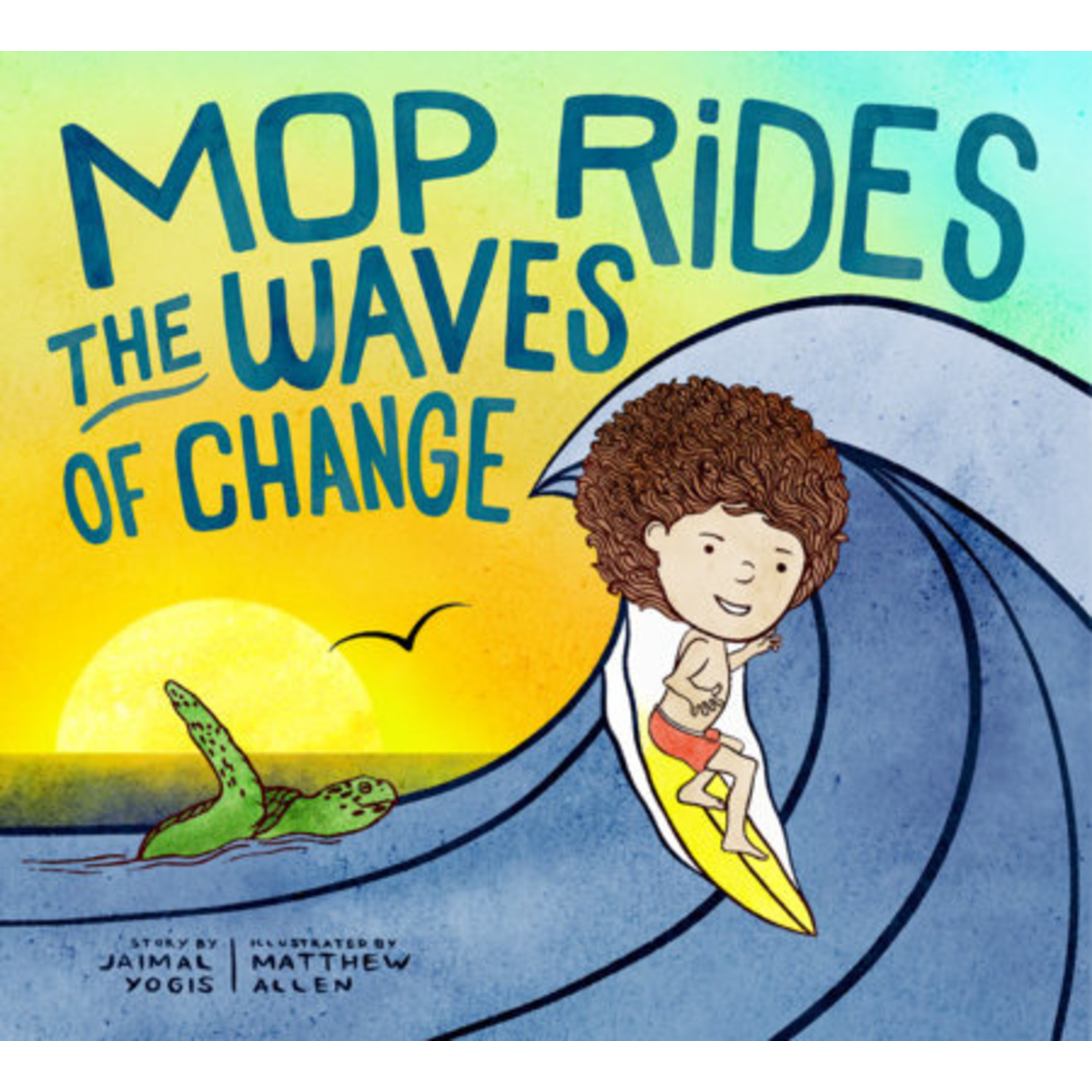 PENGUIN RANDOM  HOUSE MOP RIDES THE WAVES OF CHANGE