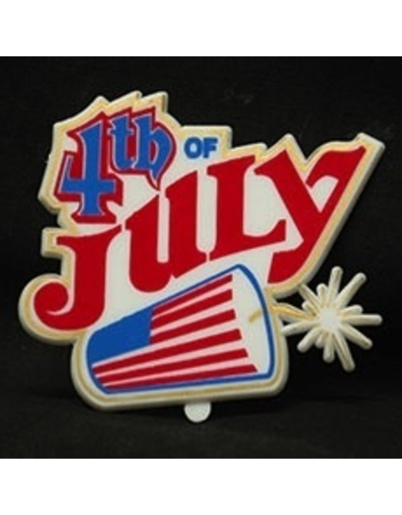 PFEIL & HOLING 4TH OF JULY FIRECRACKER PLAQUE BOX 48 CT