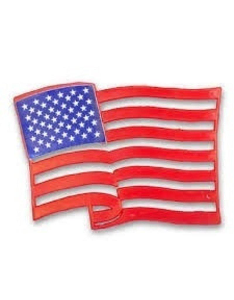 PFEIL & HOLING USA FLAG PLAQUE 4 1/2'' BOX  24 CT