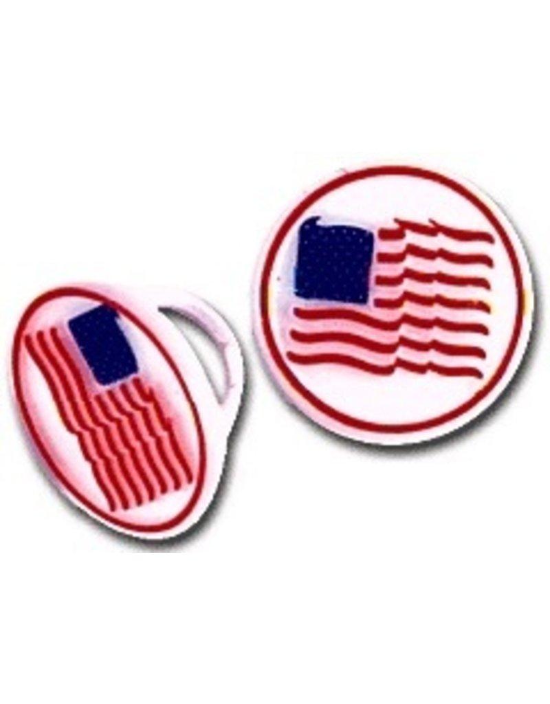 PFEIL & HOLING AMERICAN FLAG RING 1 1/4'' BOX   72 CT  DISC