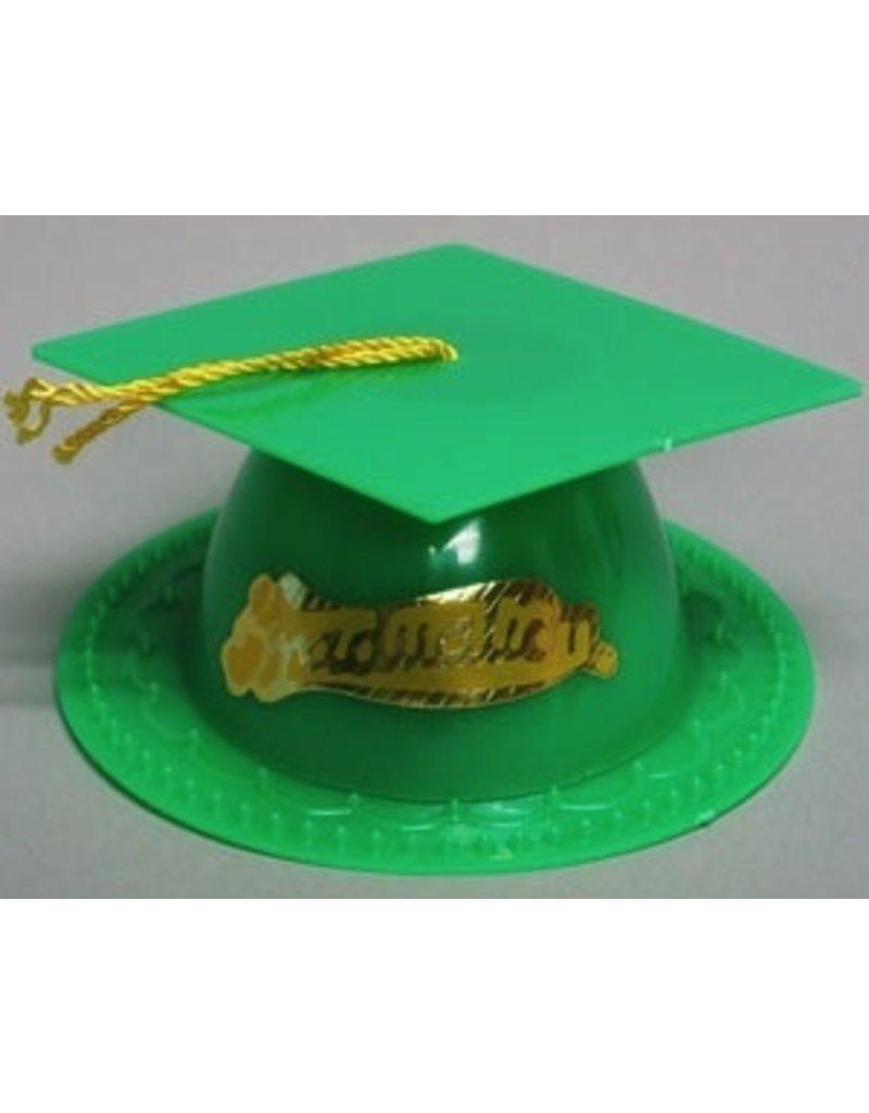 PFEIL & HOLING GREEN GRADUATION CAP 3½'' BOX  24 CT