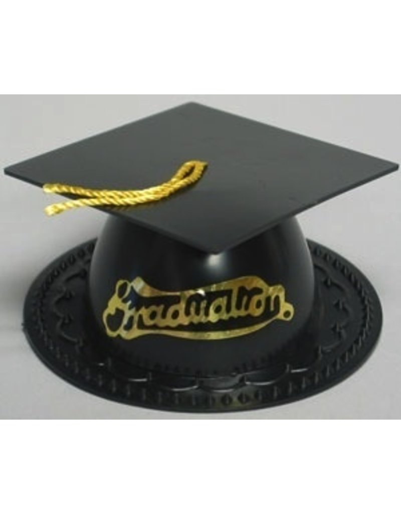 PFEIL & HOLING BLACK GRADUATION CAP 3½'' BOX  24 CT