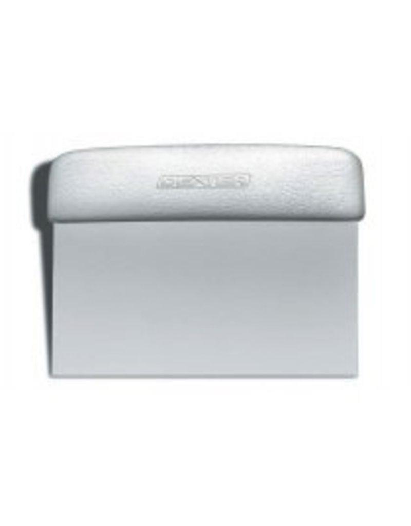DEXTER-RUSSELL S196          6 X 3'' DOUGH CUTTER SCRAPER EA     SANI SAFE WHITE
