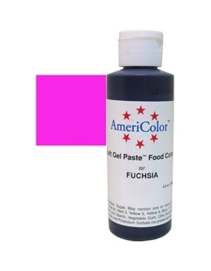 AMERICOLOR AMERICOLOR FUCHSIA GEL PASTE 4.5 OZ