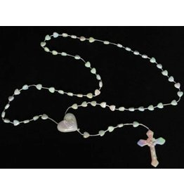 PFEIL & HOLING ROSARY BEADS WHITE - PL  24 CT