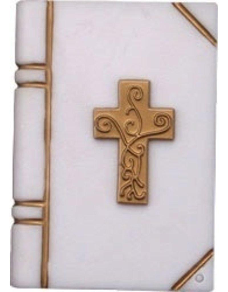 PFEIL & HOLING LARGE BIBLE W/ CROSS 3½ BOX 12 CT