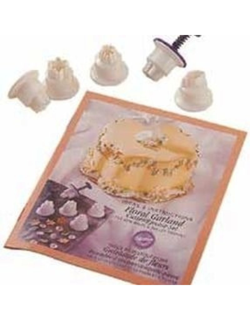 WILTON ENTERPRISES FONDANT CUTTER EJECTOR SET