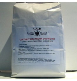 J.A.R. BAKERS SUPPLY J.A.R. COCONUT MACAROON COOKIE MIX BAG 2 1/2 LBS