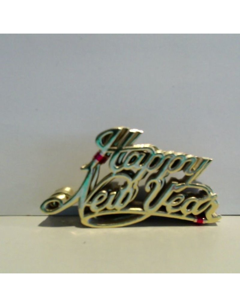 "PFEIL & HOLING ""HAPPY NEW YEARS'' GOLD FOIL SCRIPT  PKG 100 CT"