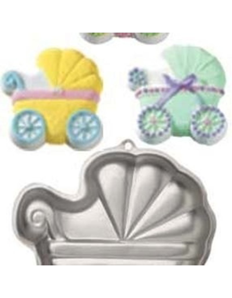 WILTON ENTERPRISES BABY BUGGY PAN