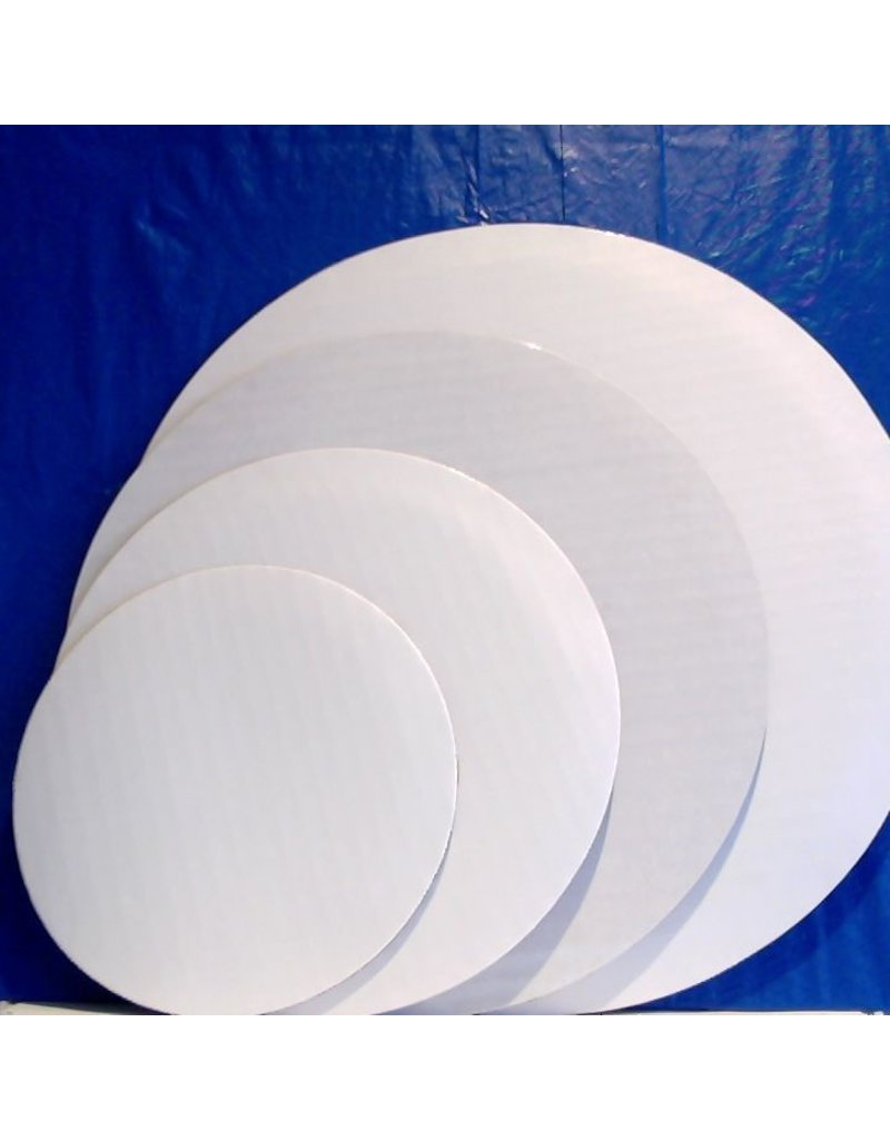 "PACKAGING & MORE 10"" WHITE CIRCLE EA"