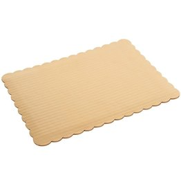 PACKAGING & MORE HALF SHEET 19 X 14''  GOLD BOARD EA