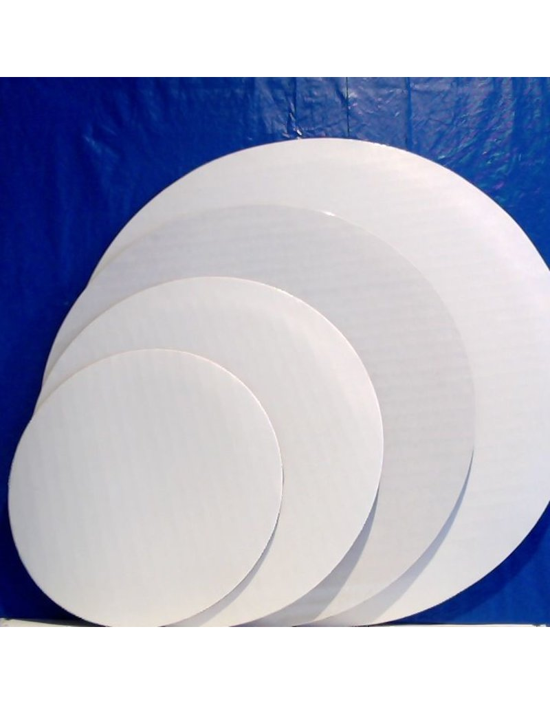 "PACKAGING & MORE 8"" WHITE CIRCLE EA"