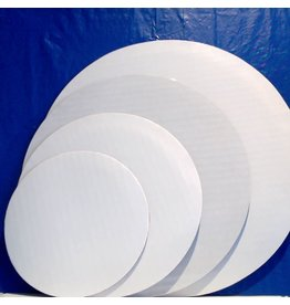 "PACKAGING & MORE 16"" WHITE CIRCLE EA"