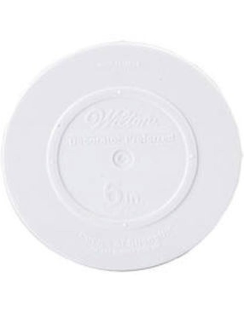 WILTON ENTERPRISES 8'' RND DECO PREF SMOOTH PLATE EA