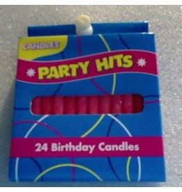 PFEIL & HOLING PINK SPIRAL CANDLE BOX 12/24 CT