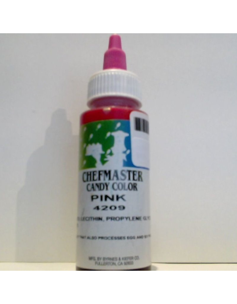 CHEFMASTER CANDY COLOR PINK 2.2 OZ