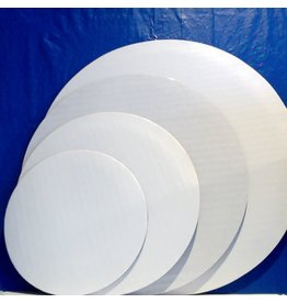 """PACKAGING & MORE 6"""" WHITE CIRCLE EA   J.A.R"""
