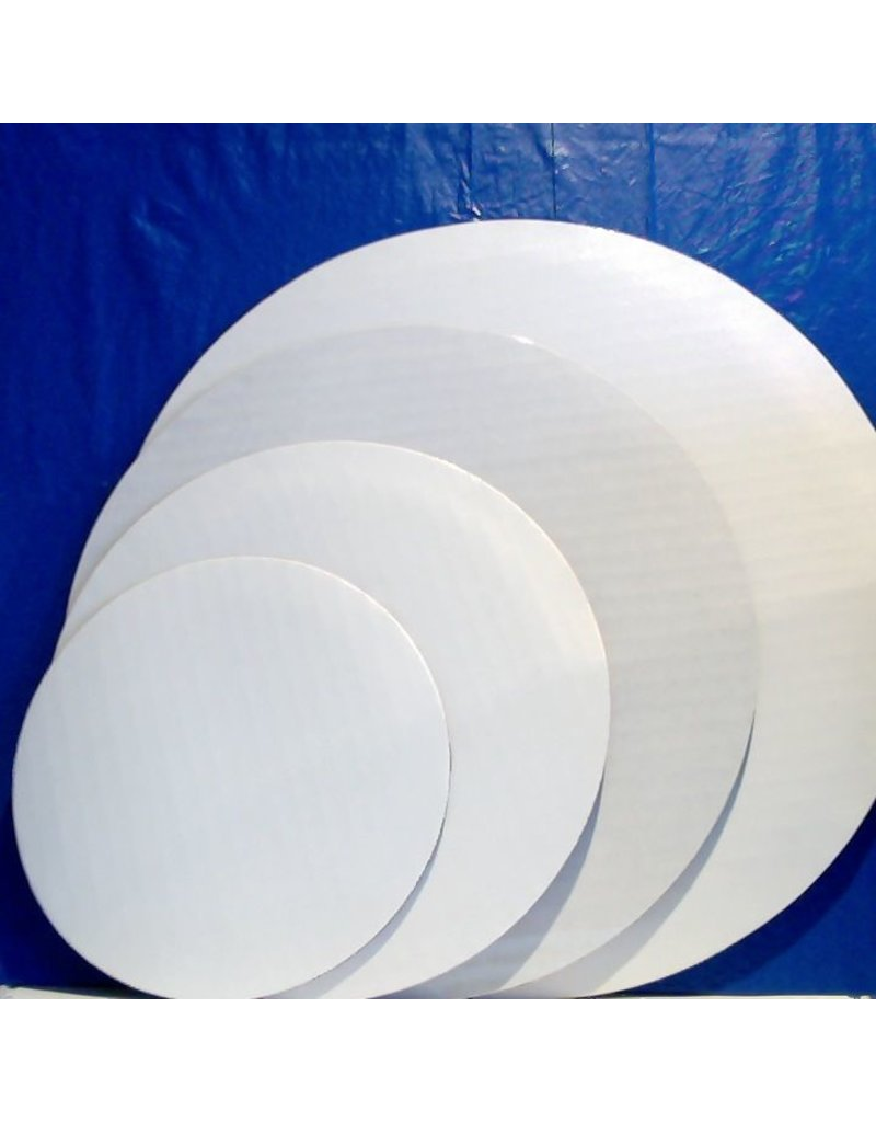 "PACKAGING & MORE 6"" WHITE CIRCLE EA"