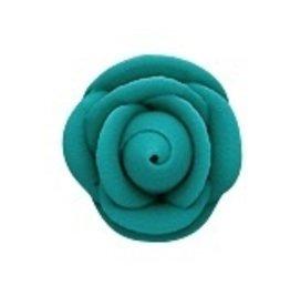 PFEIL & HOLING SMALL TEAL ROSES 1 1/8'' BOX 120 CT
