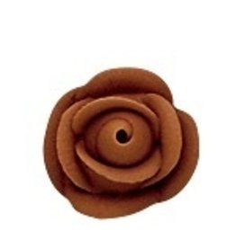 PFEIL & HOLING SMALL CHOCOLATE  BROWN ROSES 1 1/8'' BOX 120 CT
