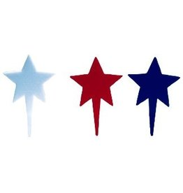 PFEIL & HOLING PATRIOTIC STAR PICK ASST 3'' BOX 144CT