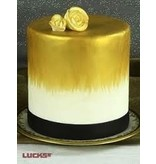 LUCKS FOOD DECORATING GOLD SHIMMER AIRBRUSH COLOR - 4 OZ  LUCKS   J.A.R.